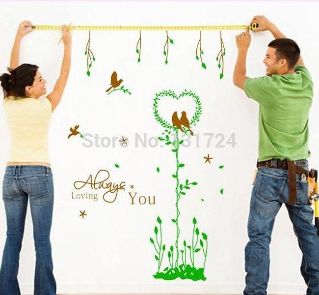 Стены котировки романтические любящие надписи для украшения дома стены искусства Adesivo декор стен пвх тв стены надписи DIY украшения