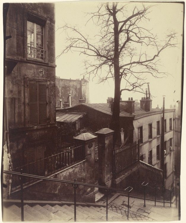 1900........MONTMARTRE.......PHOTO DE EUGÈNE ATGET..............