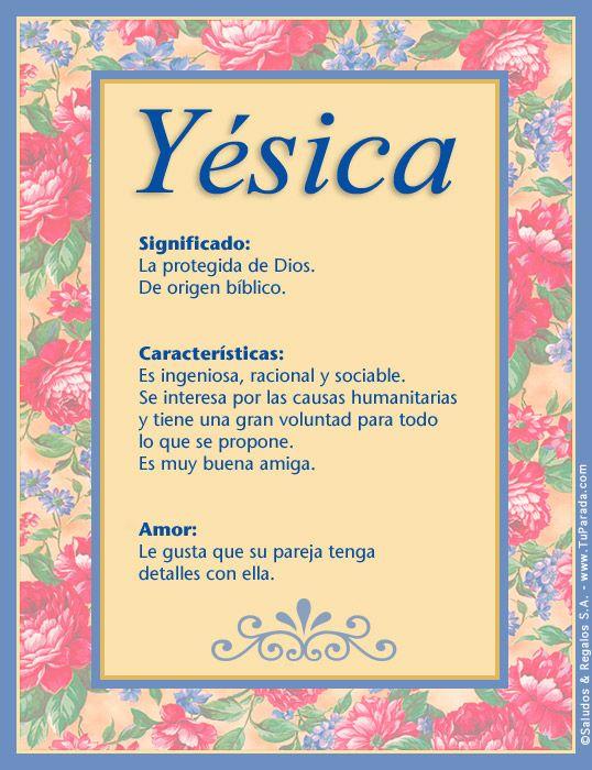 Yésica, imagen de Yésica