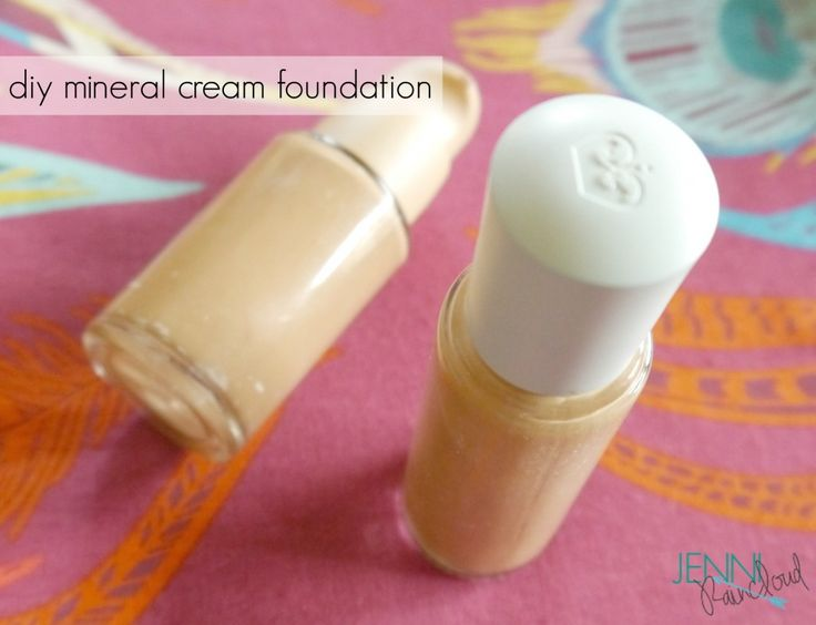 Liquid Mineral Make Up-DIY BB Cream. Click on link for recipe and tutorial. http://jenniraincloud.com/category/make-up/