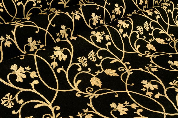 black and gold material | Responses to FabricSeen Curated ...