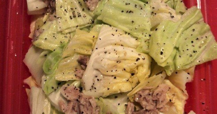 ルクエ*キャベツとツナのホットサラダ by けこぽん。 【クックパッド】 簡単おいしいみんなのレシピが276万品