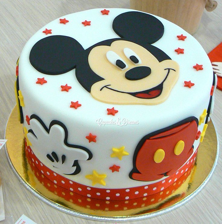 Cakes - Mickey Mouse Invitations Templates