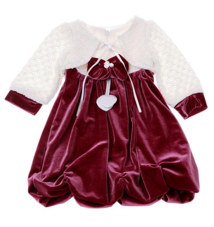 Melosum παιδικό αμπιγιέ σετ φόρεμα-ζακέτα «Elegance»  €21,90