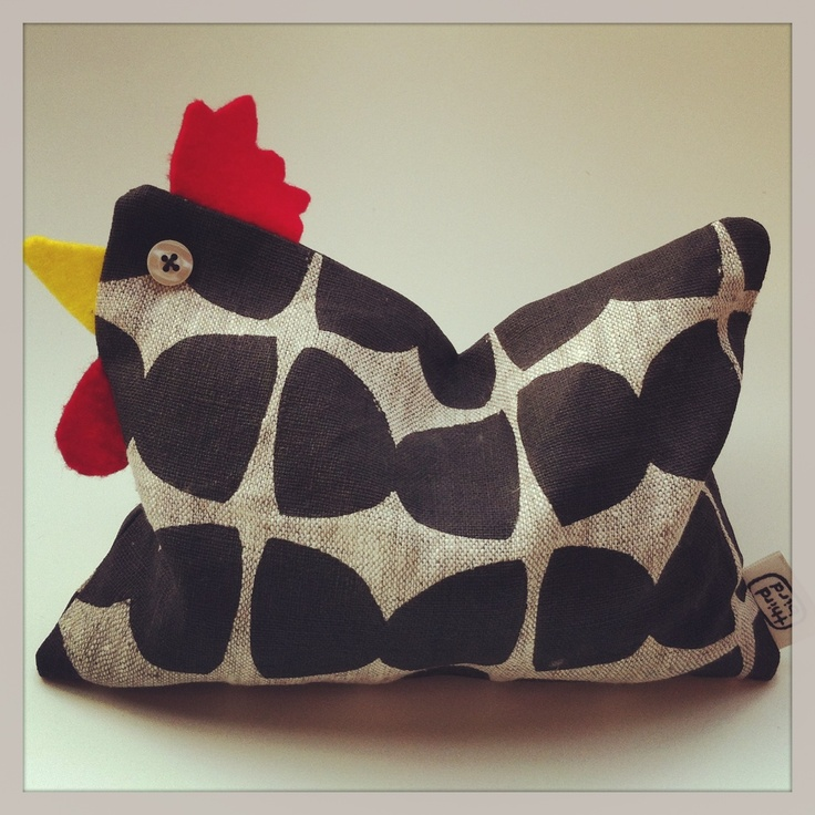 Little wheat rooster. Perfect as a heat pack or door stop.