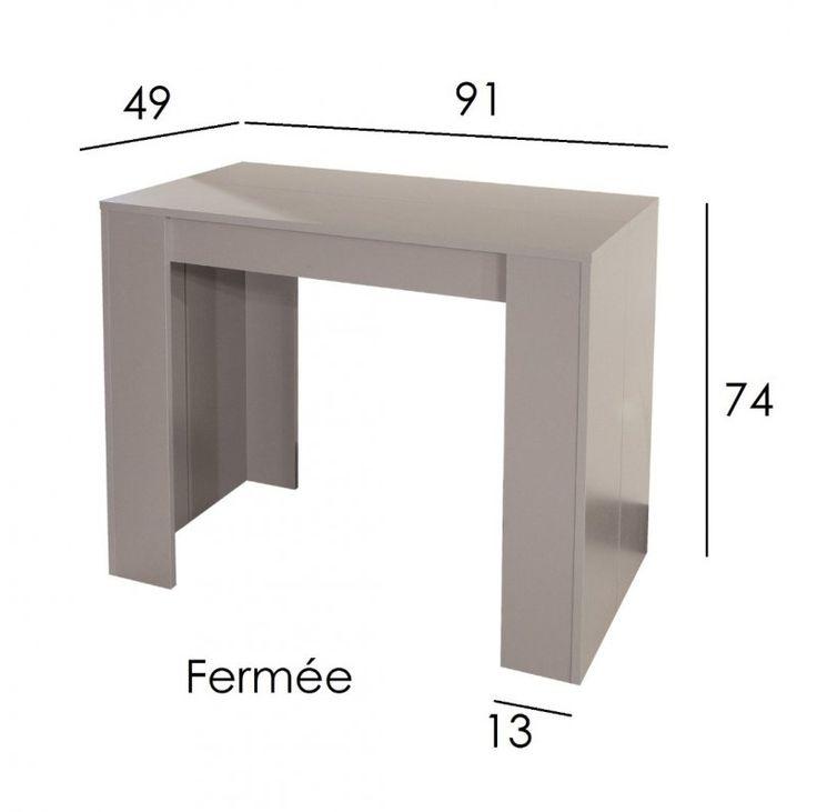 12 best consoles extensibles images on pinterest consoles console and console tables. Black Bedroom Furniture Sets. Home Design Ideas