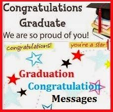 Congratulation Messages : Graduation