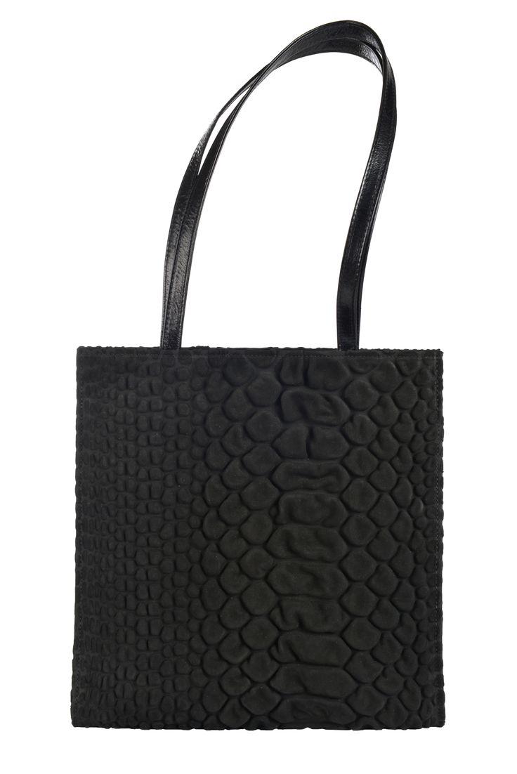 bag - sacs - handtas - black leather - zwart leder - www.awardt.be