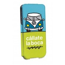 Forro iPhone 5 Cállate la Boca - Ultra Slim Furgo Azul  Bs.F. 142,89
