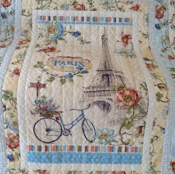Beautiful Paris Forever Quilt