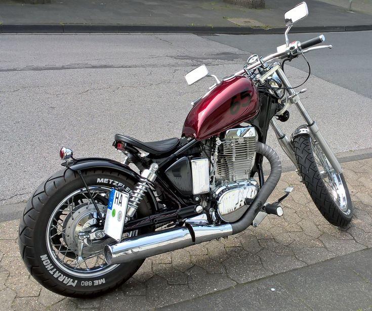 Suzuki Ls650 Savage Bobber