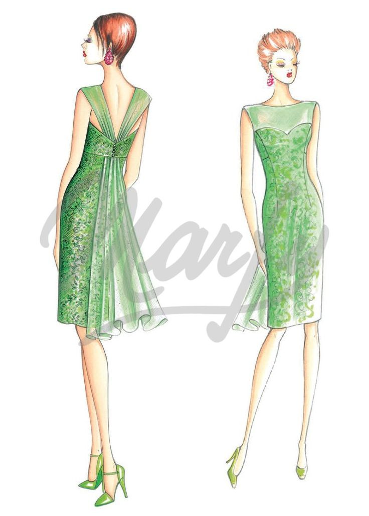 Our Patterns :: Marfy Collection 2014/2015 :: Sewing Pattern 3452 -