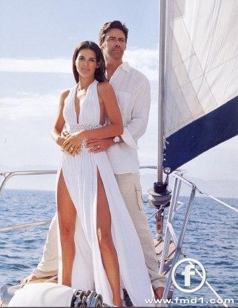 Angie Harmon & Jason Sehorn
