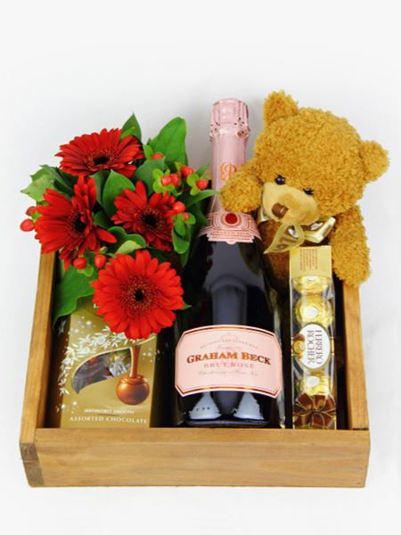 MCC with Chocs, a Teddy and Flowers
