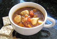 U.S. Farm-Raised Catfish Chowder Recipe - Catfish Chowder With Tomatoes and Vegetables.