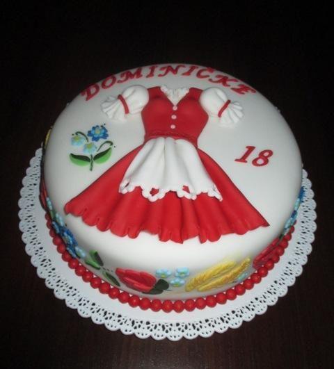 Folklór torta, narodeninové