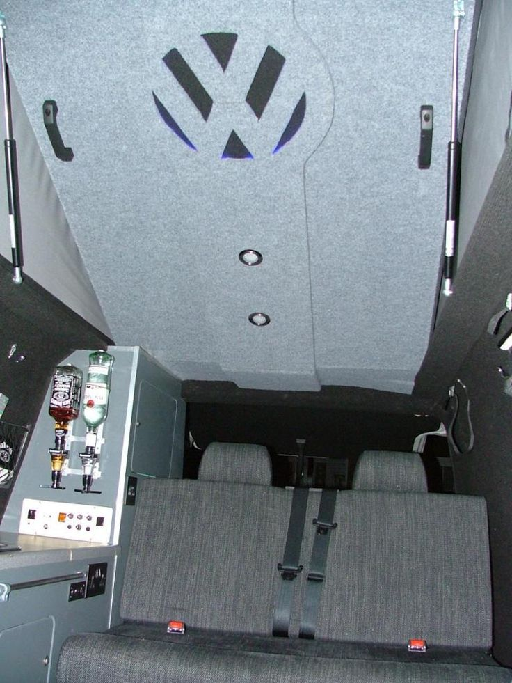 Roof Lining :: Show us some pictures!!!! - VW T4 Forum - VW T5 Forum