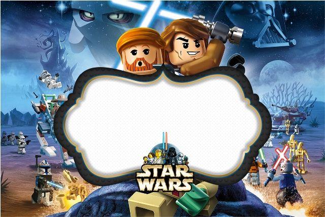 Veja o novo Kit completo digital com vários convites, rótulos e moldes para lembrancinha com o tema Lego Star Wars! Totalmente gratuito!