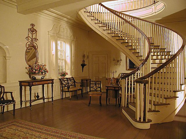 612 - Henry Kupjack - Montmorenci Stair Hall, ca. 1830 by A_O_G, via Flickr