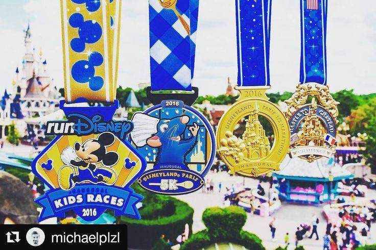 Por conseguir una de. esas medallas #Disney nosotros desempolvamos las zapatillas de correr  #Repost @michaelplzl with @repostapp  ATTRAPEZ-LES TOUTES  #disneylandparishalf #medals #rundisney #gottacatchemall #gogogo #kidsrace #5k #halfmarathon #semi #firstedition #getready #challenge #disneyparks #fantasyland #disneylandparis #seeyouinseptember #
