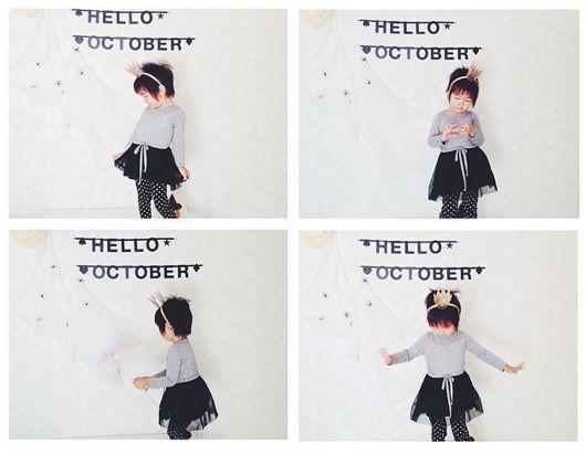 #Wordbanner #tip: Hello october - Buy it at www.vanmariel.nl - € 11,95