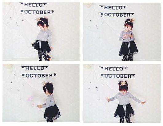 #Wordbanner #tip: Hello october - Buy it at www.vanmariel.nl - € 11,95