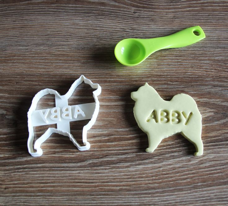 Samoyed Cookie Cutter Custom treat Personalized Dog Breed puppy Treat Cutter by CookieCuttersFactory on Etsy