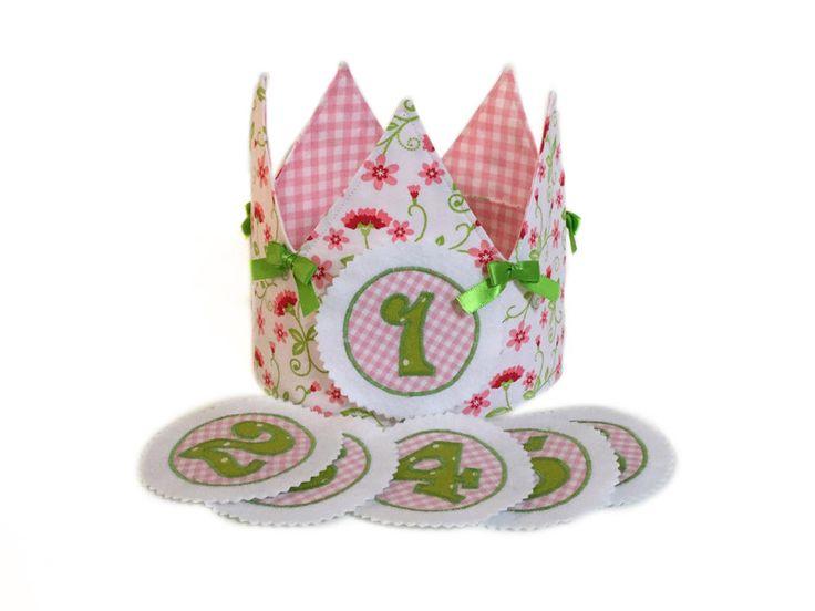 Corone - Corona per il compleanno + numeri - un prodotto unico di LutteLuud su DaWanda