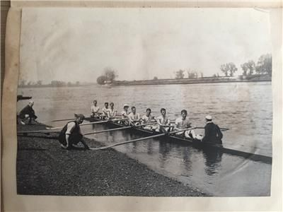 Rare Rowing Diary 1901-1902 Henley Regatta listed on eBay with luvjoystimber