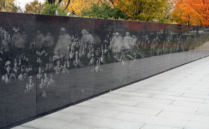 Korean Memorial Wall Washington Dc Passion For National