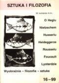 Wydawnictwo Naukowe Scholar :: :: 1999 SZTUKA I FILOZOFIA nr 16