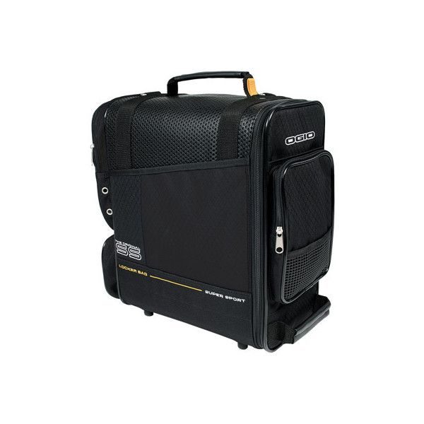Ogio Locker Duffle Bag Black Vented Main Compartment With Extended Shoe Side Pocket For Magazines Or Racquet Front Zippered Keys