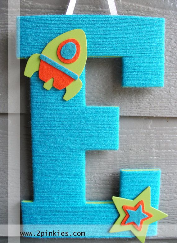 Large Wooden Letter Letters For Nursery By Twopinkies