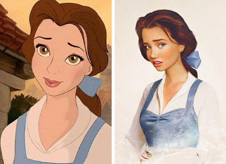 Картинки дисней принцессы переделанные