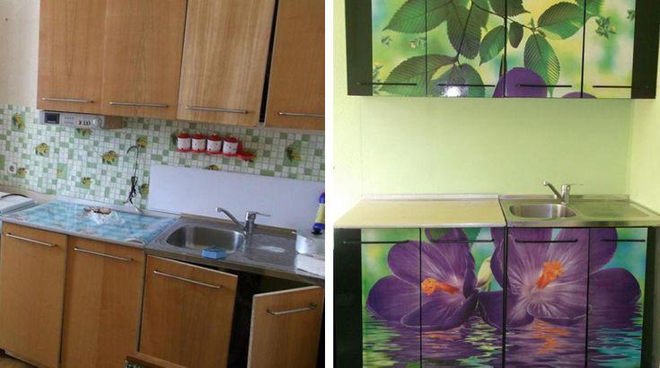как обновить кухонный гарнитур своими руками фото выразить свои соболезнования