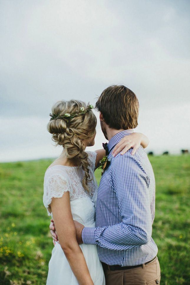 The perfect wedding braid.