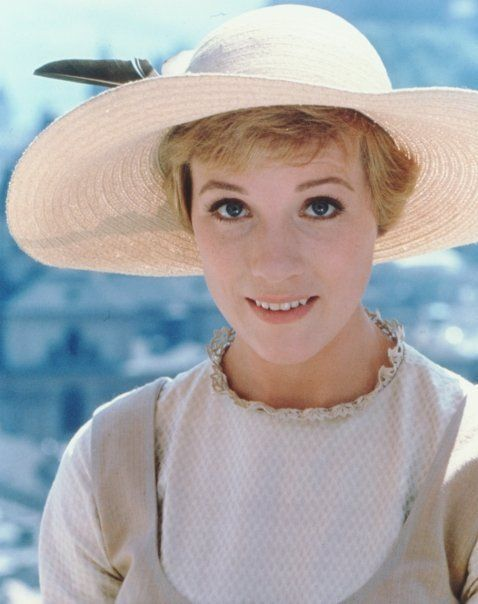 "Julie Andrews: the classiest, most elegant and beautiful woman inside and out. ""The Sound of Music"" is my favorite movie of all time and she is my singing inspiration. I adore her."