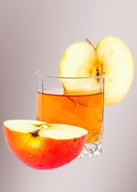 Saftdiät zum Abnehmen - 3. Rezept der Saftkur: Apfelschorle ...