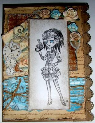 cool style- Tickled pink stamp-Lolitas