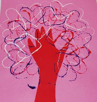 "#ValentinesDay ""Tree of Love"" Craft for #kids #kidscrafts"