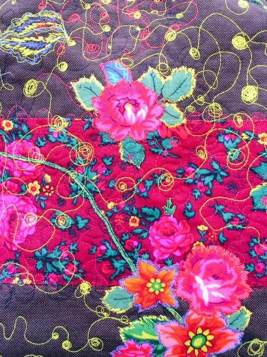 Romani Unique brown pattern 2015 gypsy roma style rose fashion textile rose inspiration hungary budapest