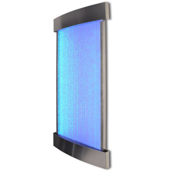 Led Wall Light Feature: 4 Foot Bubble Wall Hanging Aquarium LED Lighting Indoor