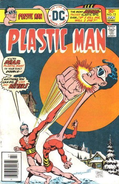 Image result for plastic man lab accident