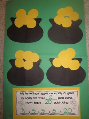 Pot of Gold Addition (from Kinder by Kim, Jazzy Journals) Could do for Jack and the Beanstalk - bag of gold