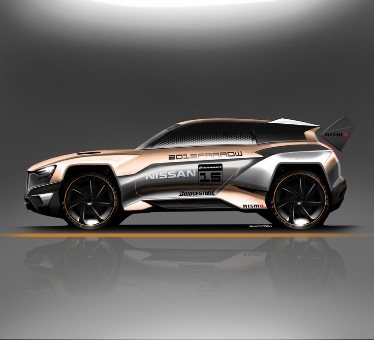 daily sketch : nissan