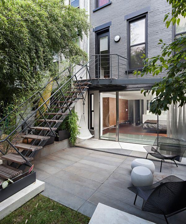 Brooklyn Apartment by Craig Konyk architect photographed by Brad Dickson, via Behance