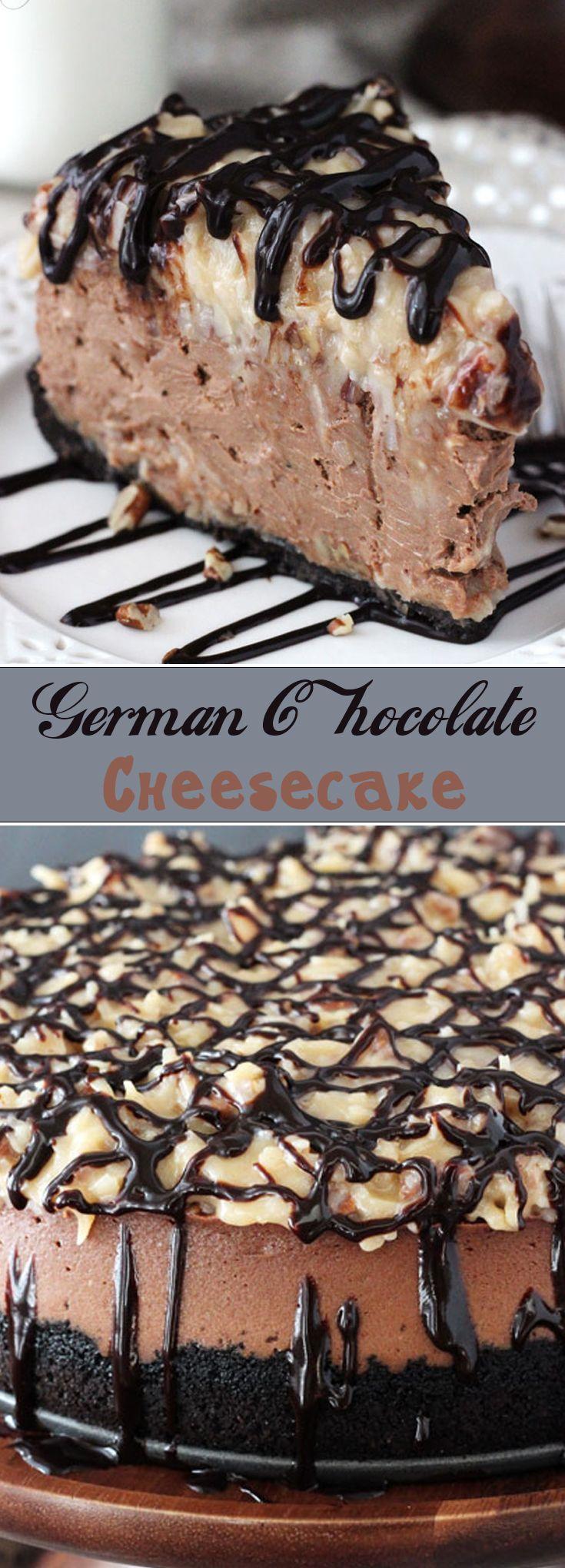 German Chocolate Cheesecake r2