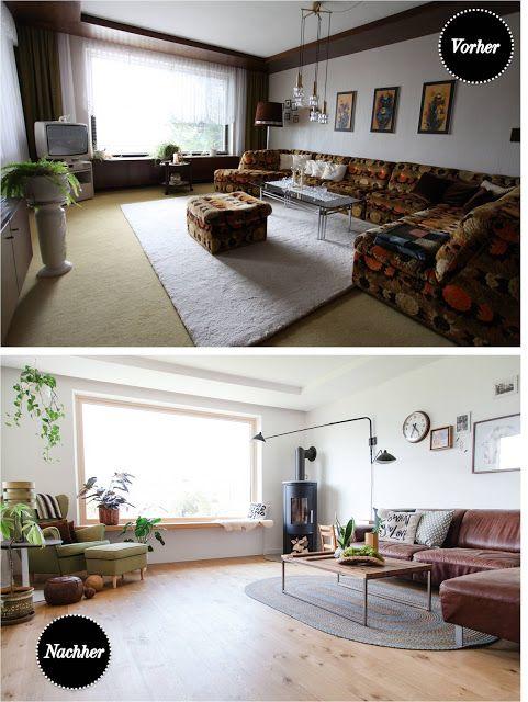 Vorher-Nachher: Mein Lieblingsraum – unser Wohnzimmer ♥