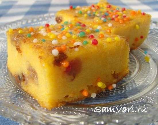тыквенная запеканка с творогом / pumpkin casserole with cheese