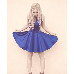 Dove Cameron! she just seems like a really sweet and adorable person!!